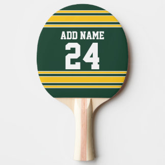 Football Jersey with Custom Name Number Ping Pong Paddle