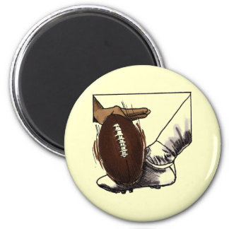 Football Kick T-shirts and Gifts 2 Inch Round Magnet