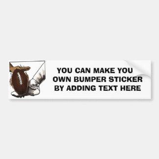 Football Kick T-shirts and Gifts Bumper Sticker
