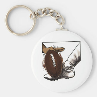 Football Kick T-shirts and Gifts Keychain