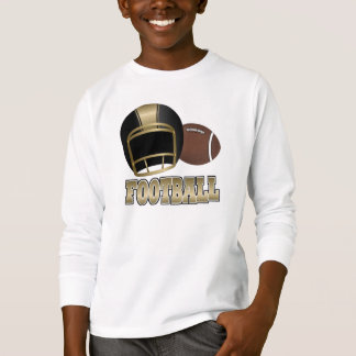 Football Kids' Hanes TaglessLong Sleeve T-Shit T-Shirt