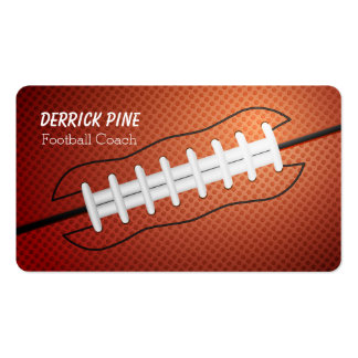 Football Laces Business Card