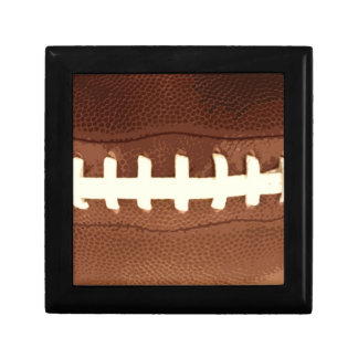 Football Laces Graphic Jewelry Box