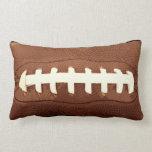 Football Laces Graphic Lumbar Pillow