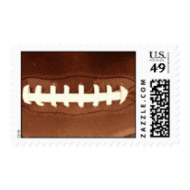 Football Laces Graphic Postage