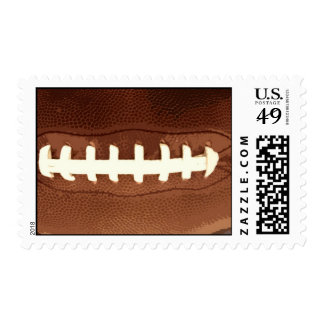 Football Laces Graphic Postage Stamp