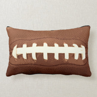 Football Laces Graphic Throw Pillow