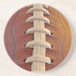 Football Laces Live Beverage Coaster at Zazzle