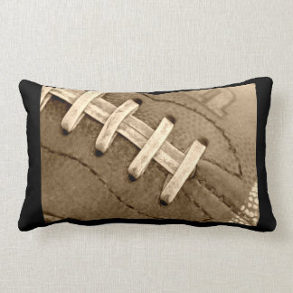 Football Laces Lumber Pillow
