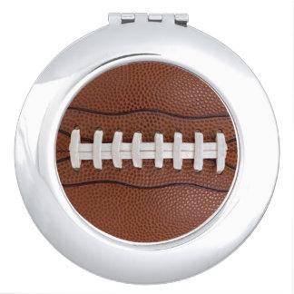 Football Ladies Fan Gift Idea Photo Compact Mirror