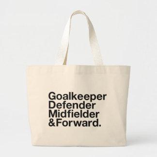 FOOTBALL LARGE TOTE BAG
