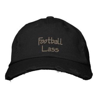 Football Lass Embroidered Baseball Cap