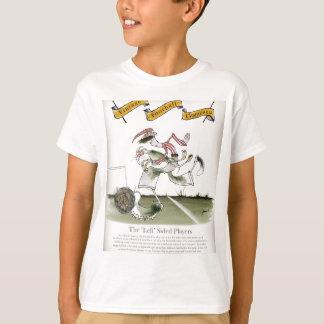 football left wing, red white kit T-Shirt