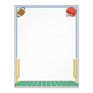 Football Letterhead Customized Letterhead