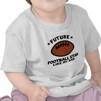Football Like Dad Tees