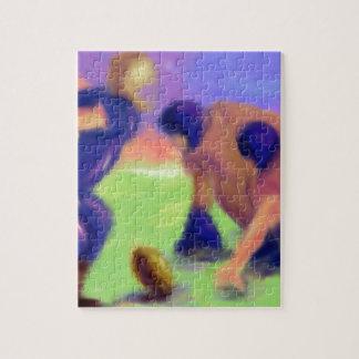 Football Line Art Jigsaw Puzzle