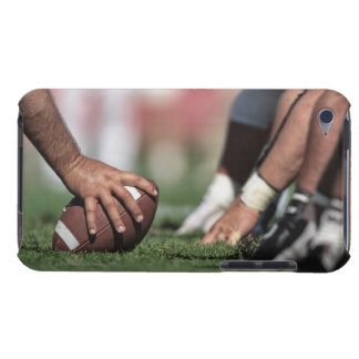 Football line of scrimmage barely there iPod case