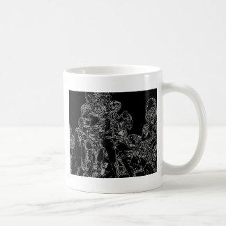 Football, Line of scrimmage Coffee Mug