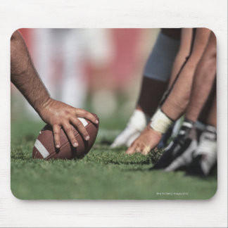 Football line of scrimmage mouse pad