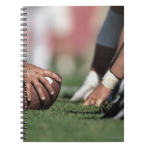 Football line of scrimmage note books