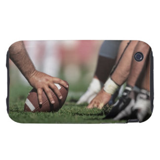 Football line of scrimmage tough iPhone 3 cover