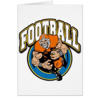 Football Logo Greeting Card