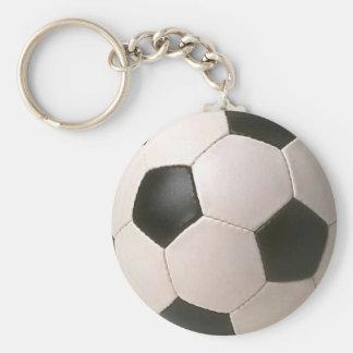 football logo llavero redondo tipo pin