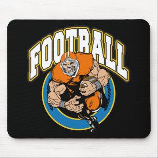 Football Logo Mouse Pad