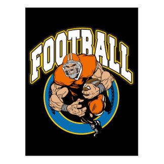 Football Logo Post Cards