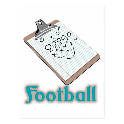 Football Logo Post Card