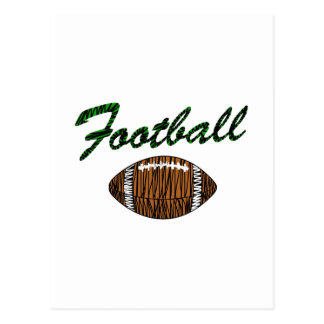 Football Logo Postcard