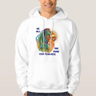 Football logo think it's to early view notes hoodie