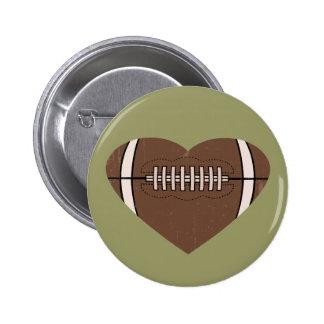 Football Love Buttons