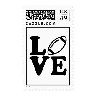 Football love postage