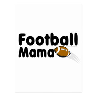 Football Mama Postcard
