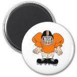 Football Man Fridge Magnets