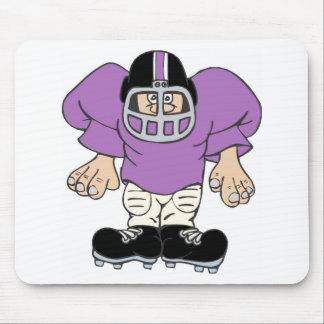 football man mouse pad