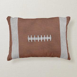 Football Accent Pillow