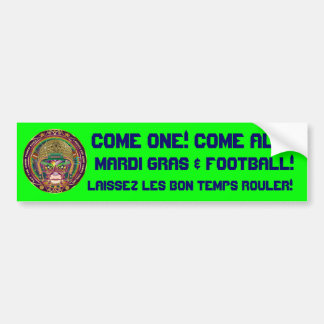 Football-Mardi-Gras-3.png Bumper Sticker