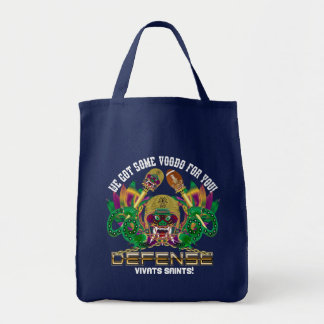 Football Mardi Gras Read About Design Tote Bag