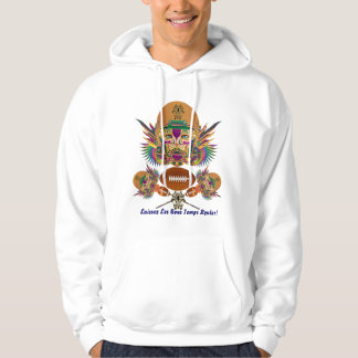 Football Mardi Gras think it's to early view notes Hoodie