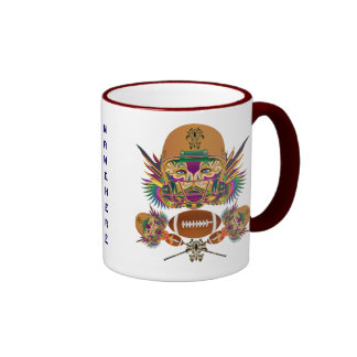 Football Mardi Gras think it's to early view notes Coffee Mug