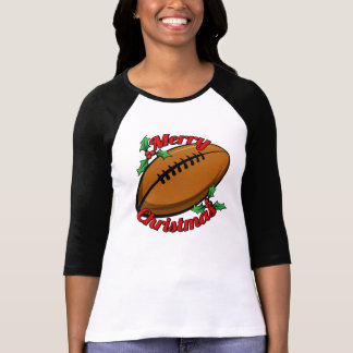 Football Merry Christmas T-Shirt