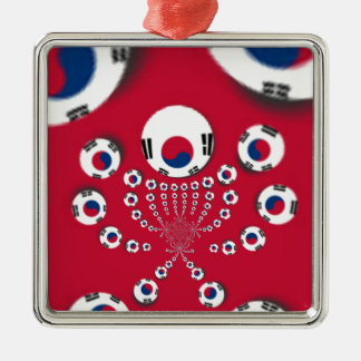 Football. Metal Ornament