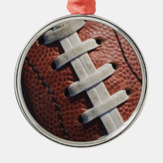 Football Metal Ornament