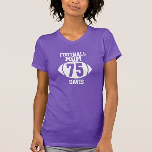 Football Mom 75 T Shirts