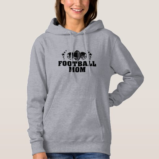 Football Mom American Football Mother Hoodie