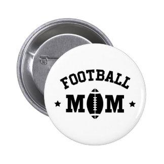 Football mom black text button