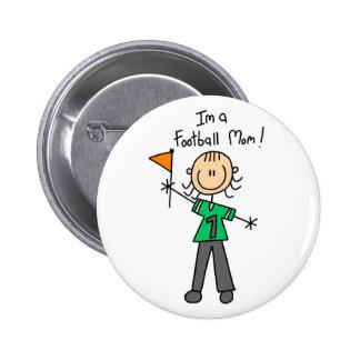 Football Mom Button