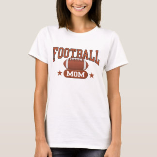 Football Mom - Colored T-Shirt